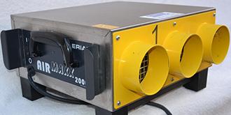 Gerät für Bautrocknung und Trocknung von Wasserschäden, Aerial Hochleistungsgebläse Airmaxx 2000